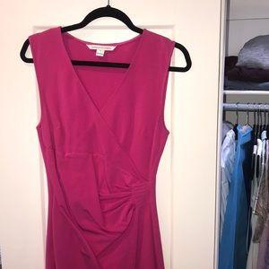 Diane Vonfurstenburg pink dress